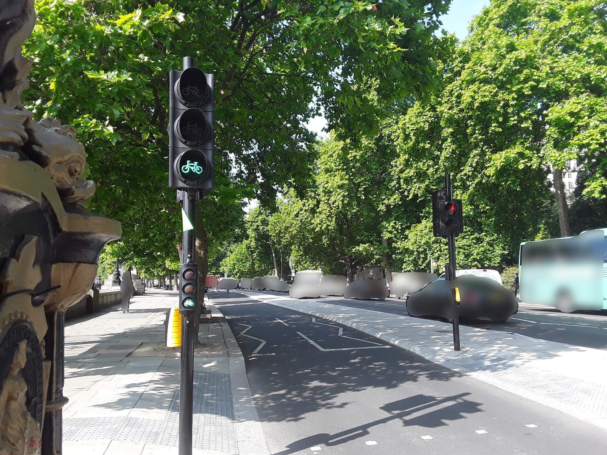 Bike lane infrastructure