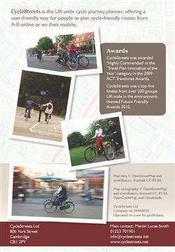Local Authority brochure page screenshot