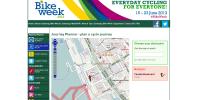 Bike Week cycle journey planner
