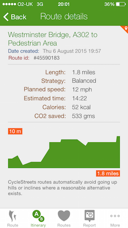 CycleStreets » Custom cycle apps