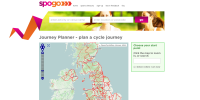 Spogo cycle journey planner