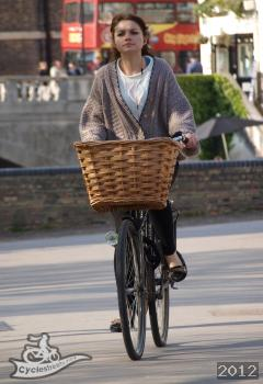 A typical bicycle user in Cambridge