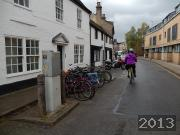 Street Cycle Parking on King Street