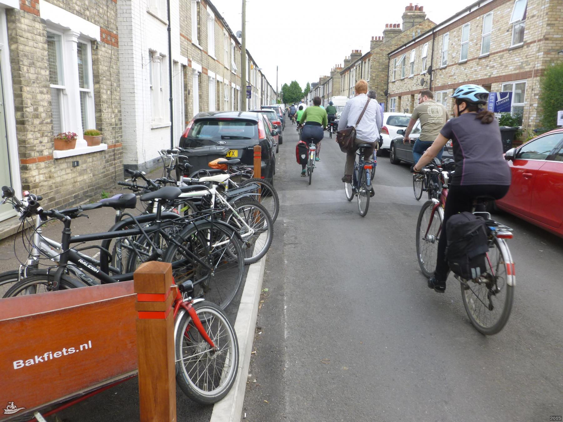 Street Cycle Parking on Thoday Street